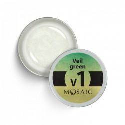 Mosaic V1 green/gēla krāsa 5 ml