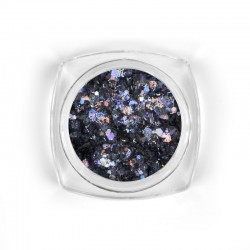Mosaic Hematite mix glitter