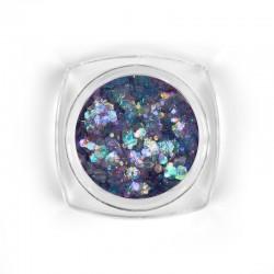 Mosaic Lilac mix glitter