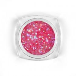 Mosaic Pink mix glitter