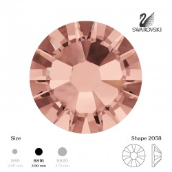 Rose gold SS16 10pcs