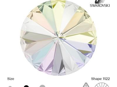 Crystal AB SS17 10pcs