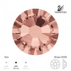 Rose gold SS5 100pcs