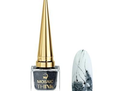 Mosaic think Silver+black/10ml